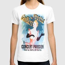 Vintage poster - Yvette Guilbert T-shirt