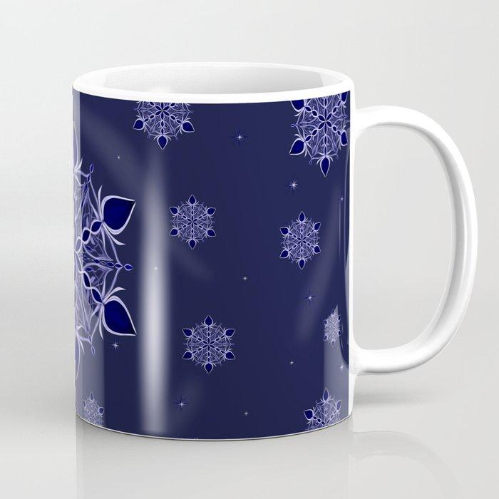Silver and Sapphires Coffee Mug