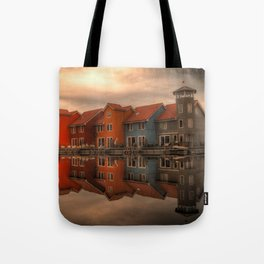 Reitdiephaven Groningen, The Netherlands Tote Bag
