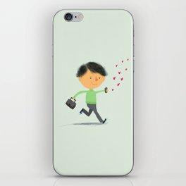 Boy in Love #3 iPhone Skin