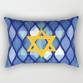 Jewish Celebration Rectangular Pillow