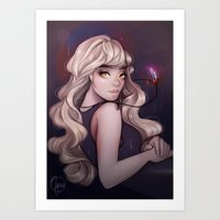 cyarin Art Prints featuring Sirene by Cyarin