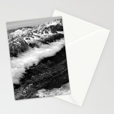 View from Mont Blanc of Chamonix, France. Stationery Cards