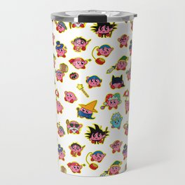 Kirby is swallowing everyone in here. Travel Mug