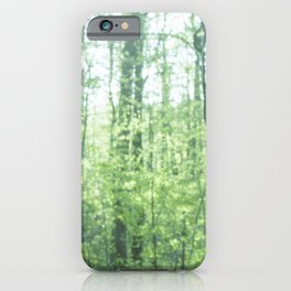 Fresh Green Forestry iPhone Case