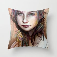 Circe Throw Pillow