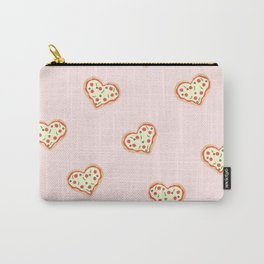 Pizza Heart (Pink) Carry-All Pouch