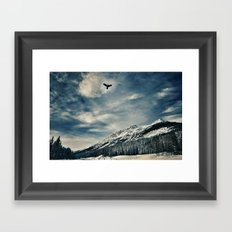 Dream Big, Reach Higher Framed Art Print