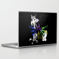 hyrule Laptop & iPad Skins featuring My Little Hyrule by LadyTank Studios