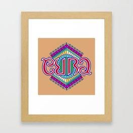 """CUBA"" Framed Art Print"