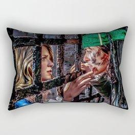 SuperCorp Captain Luthor and Admiral Zorel Rectangular Pillow