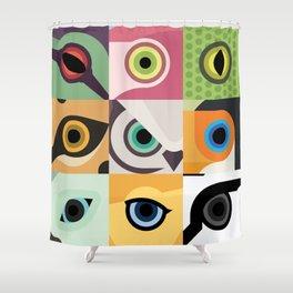 Animal's eyes Shower Curtain