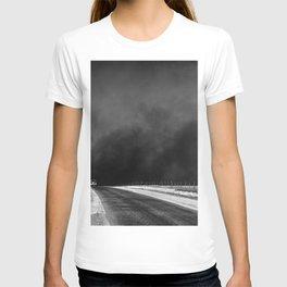 Vintage Country Road Landscape T-shirt