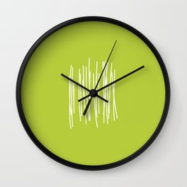 Wood - Minimal FS - by Friztin Wall Clock