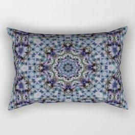 Oriental flavor , folklore , carpet Rectangular Pillow