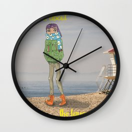 It's All About the Layers Wall Clock