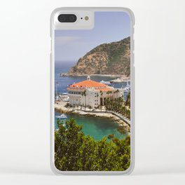 Catalina Island Casino Clear iPhone Case