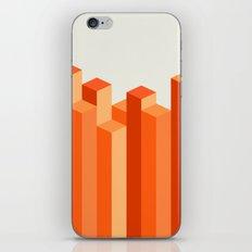 Geometric City iPhone & iPod Skin