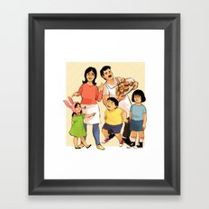 Belchers Framed Art Print