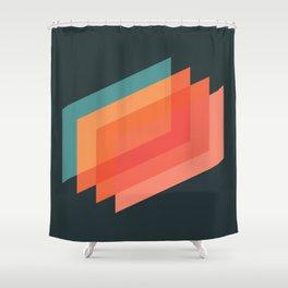 Horizons 01 Shower Curtain