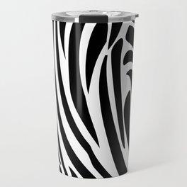 Zebra trendy design artwork animal exotic pattern Travel Mug
