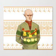Very Merry Solas Canvas Print
