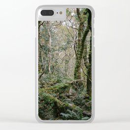 Dartmoor Woods Clear iPhone Case