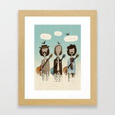 Teach Your Children Framed Art Print