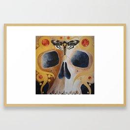 Death's Wisdom Framed Art Print