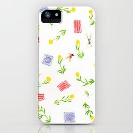 Orange Bloom iPhone Case
