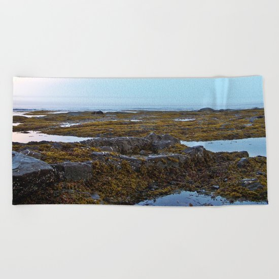 Tidal Shelf and the Fog Beach Towel