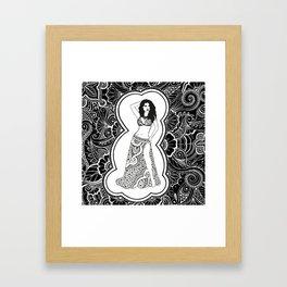 Henna Dancer  Framed Art Print