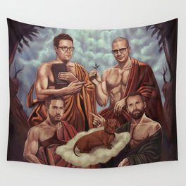 GOG vs GB2 Wall Tapestry