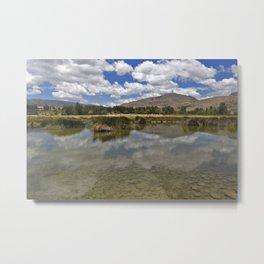 Andean landscape Metal Print