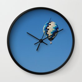 Blue Balloon Wall Clock