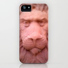Lion clay iPhone Case
