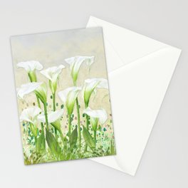 Calla Lily In White Stationery Cards