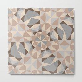 Cocoa kaleidoscope Metal Print