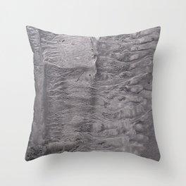 River Ran Grey Throw Pillow