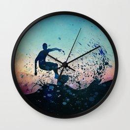 Waverider Wall Clock