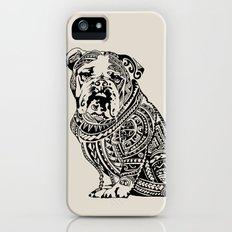 Polynesian English Bulldog Slim Case iPhone (5, 5s)