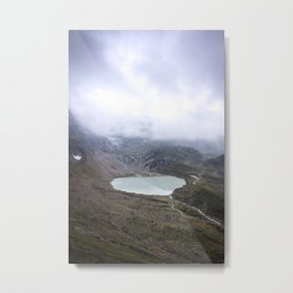 Heart of a Glacier Metal Print