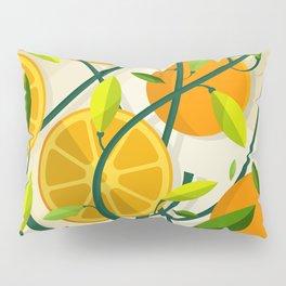 Mediterranean Oranges Pillow Sham