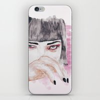 pulp fiction iPhone & iPod Skins featuring pulp fiction. by Ruwaa