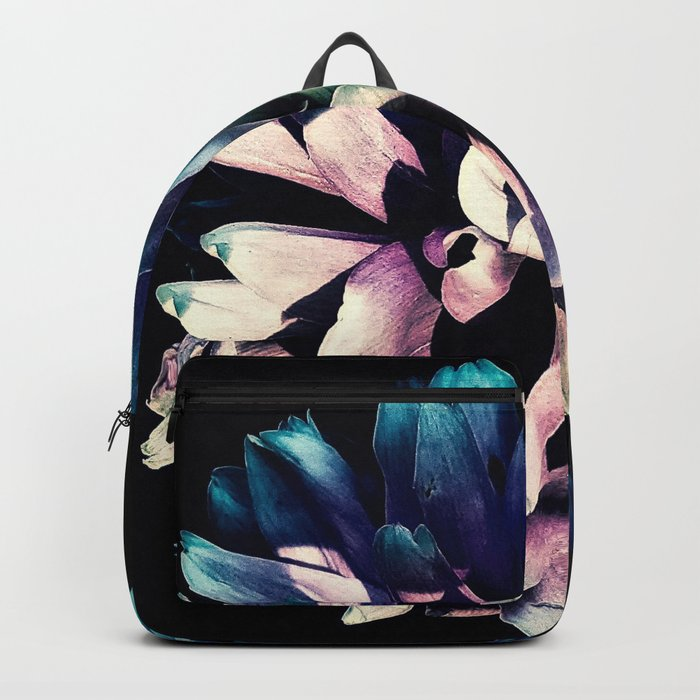 Pink Dahlia In the Last Rays of Sunset Backpack