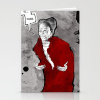 dracula Stationery Cards featuring Dracula by Ed Pires