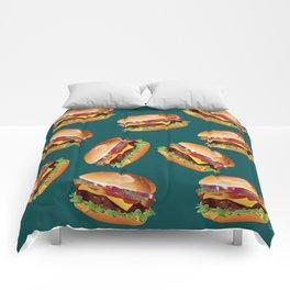 Deluxe Cheeseburger Comforters
