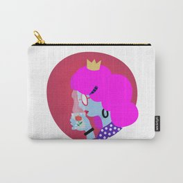 Tea Time - illustrated girl boss at tea o clock Carry-All Pouch