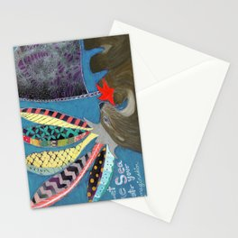 Let the Sea Stir Your Imagination Stationery Cards