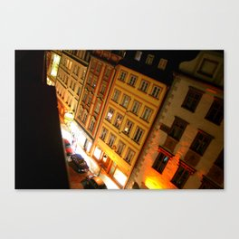 View From Up Top Canvas Print